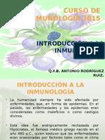 CLASE 1 (Introduccion a La Inmunologia)