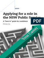 Applying for a Role in the NSW Public Sector