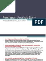 11 Persiapan Analisis Data