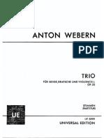 Op. 20 - Streichtrio