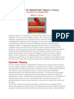 THEORIES OF MAGNETISM.docx
