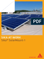 740 Saw Sika SolarMount-1 Field Experiences