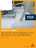 791 Saw Detailing With Sikalastic