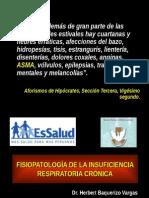 Fisiopatologia de La Insuficiencia Respiratoria Crónica