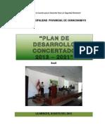 Plan Desarrollo Concertado 2013-2021