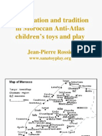 Globalisation and tradition in Moroccan Anti-Atlas children's toys and play