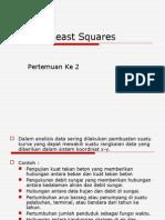 MEF II_ Metode Least Square