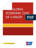 The Global Economics Cost of Cancer