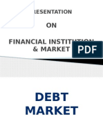 Financial institution & debt market