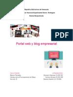 Portal Web y Blog Empresarial