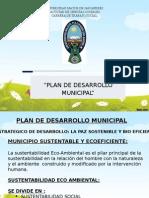 Diapositivas Plan de Desarrollo Municipal