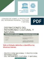 Convención Sobre La Protección del Patrimonio Cultural y Natural