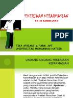 pekerjaan kefarmasian (PP 51)