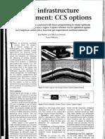 CO2 Infrastructure Development CCS Options