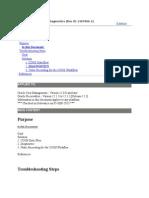 COGS Dataflow and Diagnostics
