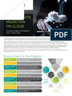 SAP Migration on Cloud Brochure 1.0