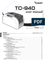 Ciaat CTC-940 user manual