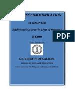 Www.universityofcalicut.info_SDE_B Com -VI Sem.- Additional Course - Business Communication