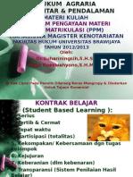 Hukum Agrariamateri Ppm Mkn 2012