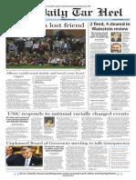 The Daily Tar Heel for Nov. 13, 2015