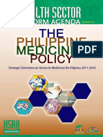 Philippine Medicines Policy 2011