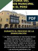 Tema 4;Los Municipios en El Periodo Republicano