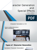 1. Character Generation and Special Effects (Cabrera, Cid and Dayoc)