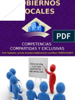 Tema 6,1; Competencias Del g Local