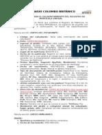 Instructivo Online Registro de Matricula