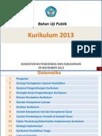 DRAF KURIKULUM 2013