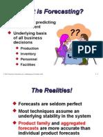 Forecasting Mba