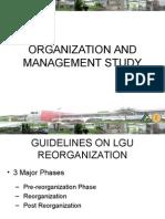 Organization and Management Study