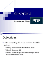 Fin329 Chapter 3 - Investment Alternatives