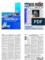 "Kuta Weekly-Edition 174 ""Bali""s Premier Weekly Newspaper"""
