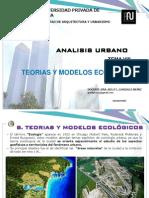 Tema Viii -Teorias y Modelos Ecologicos