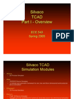 Silvaco TCAD Part I - Overview