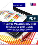 Metrics Benchmark White Paper 2013