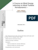 1-IntroductionToWindTurbineAerodynamics
