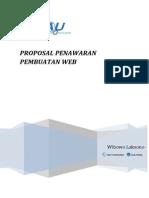 Proposal Pembuatan Web Murah