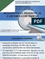 Diag Imagistic Cancer Esofag