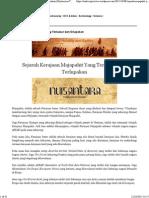 Conspiracy Theory Majapahit