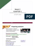 Week 2 Chapter 2 Sample Prep Statistics
