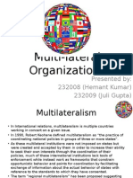 Multi Lateral Institutions