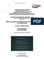 Análisis Objeto Técnico La Aguja