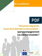Personnes migrantes, issues de la diversité ou des quartiers