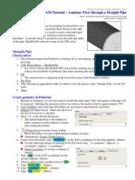 Tutorial Straight Pipe Pointwise Openfoam