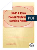 Tomato & Tomato Products Manufacturing