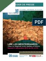 Lire les Méditerranées 5 Décembre 2015