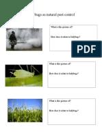 science unit lesson 5 handouts