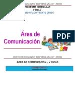ÁREA COMUNICACION  V CICLO.doc